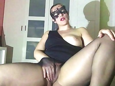 Black Magic, Pantyhose Fetish JOI Encouragement