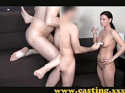 Casting - European babe is anally intrigued